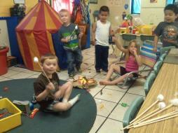 preschool camping pic