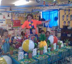 preschool hawaiian luau 1