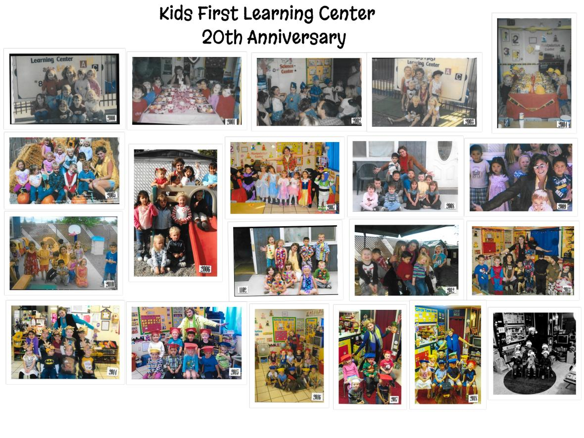KIDS FIRST 20TH ANNIVERSARY COLLAGE 2