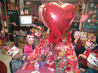vday table fun