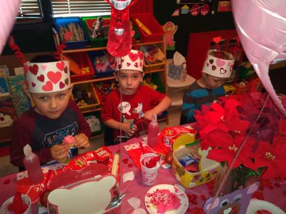 vday table manners